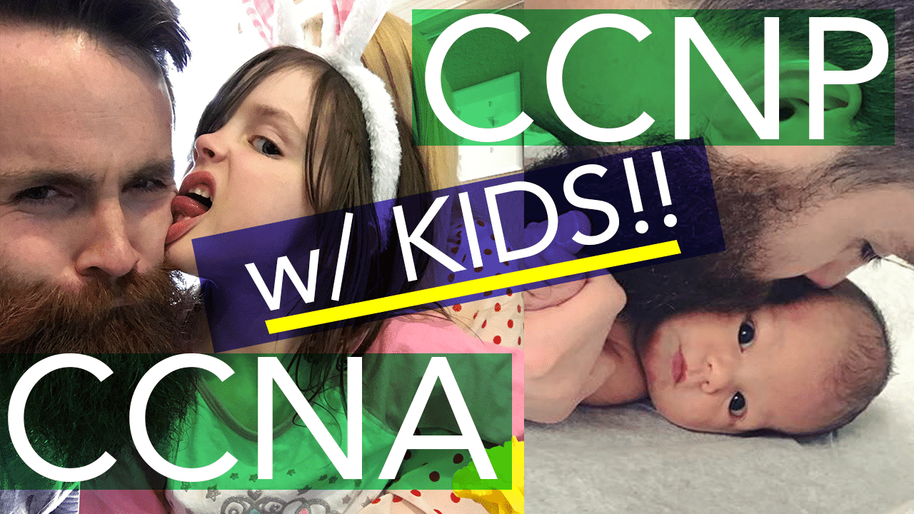 Trying to Study for my CCNA CCNP with KIDS!! - Study Tips for CCNA CCNP