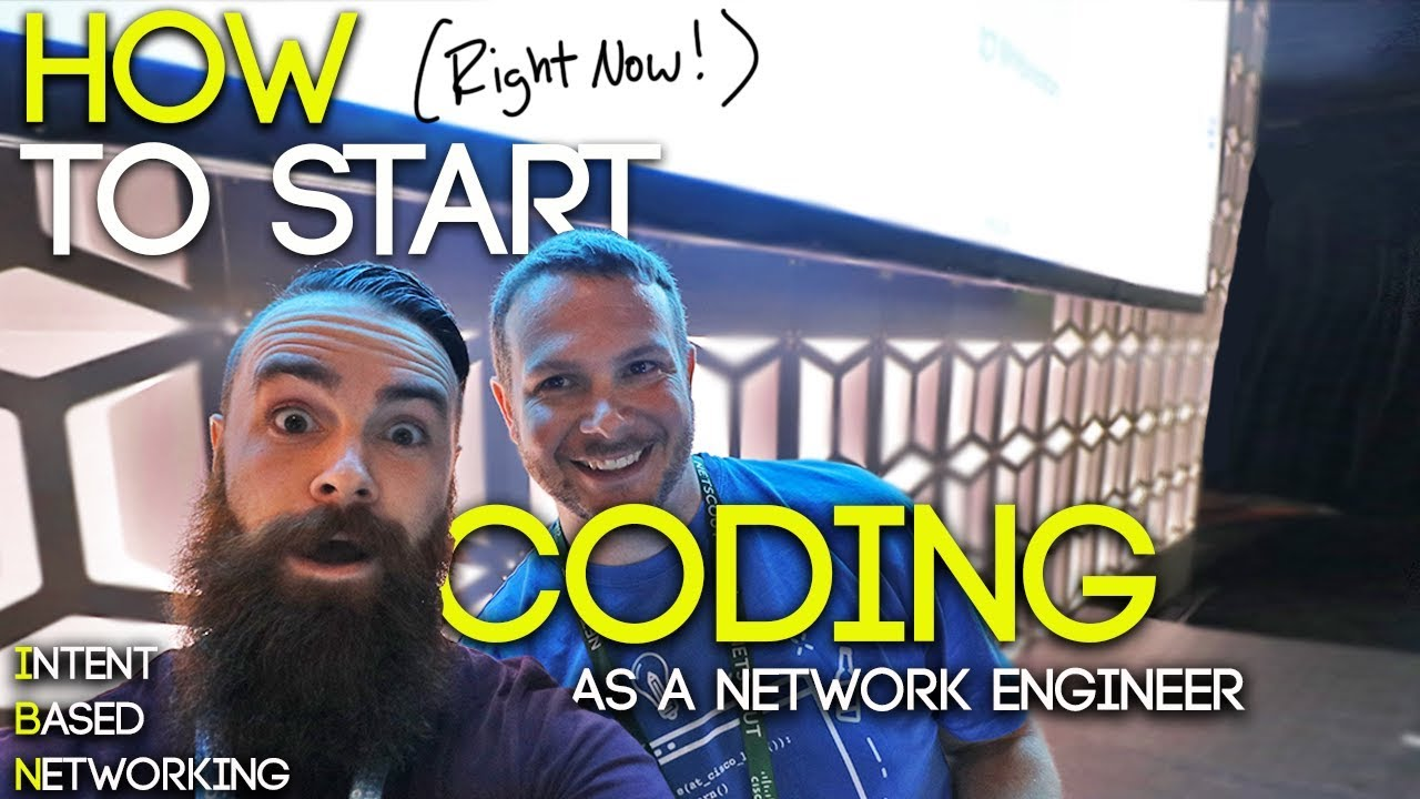 HOW to Start Coding (RIGHT NOW!) as a Network Engineer - ICND1 | CCNA CCNP & Intent-Based Networking