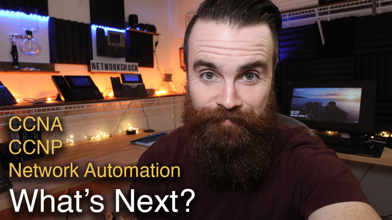 What's next for NetworkChuck? *UPDATE* | CCNA | CCNP | Network Automation