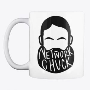 Official NetworkChuck Mug