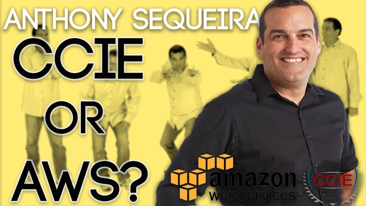 CCIE or AWS? - Interview with Anthony Sequeira from CBT Nuggets // This is IT! Show