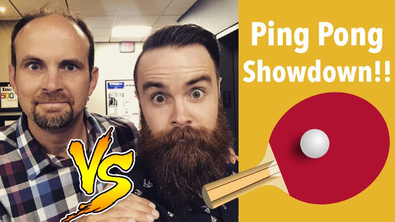 Ping Pong Showdown - NetworkChuck and Jeremy Cioara