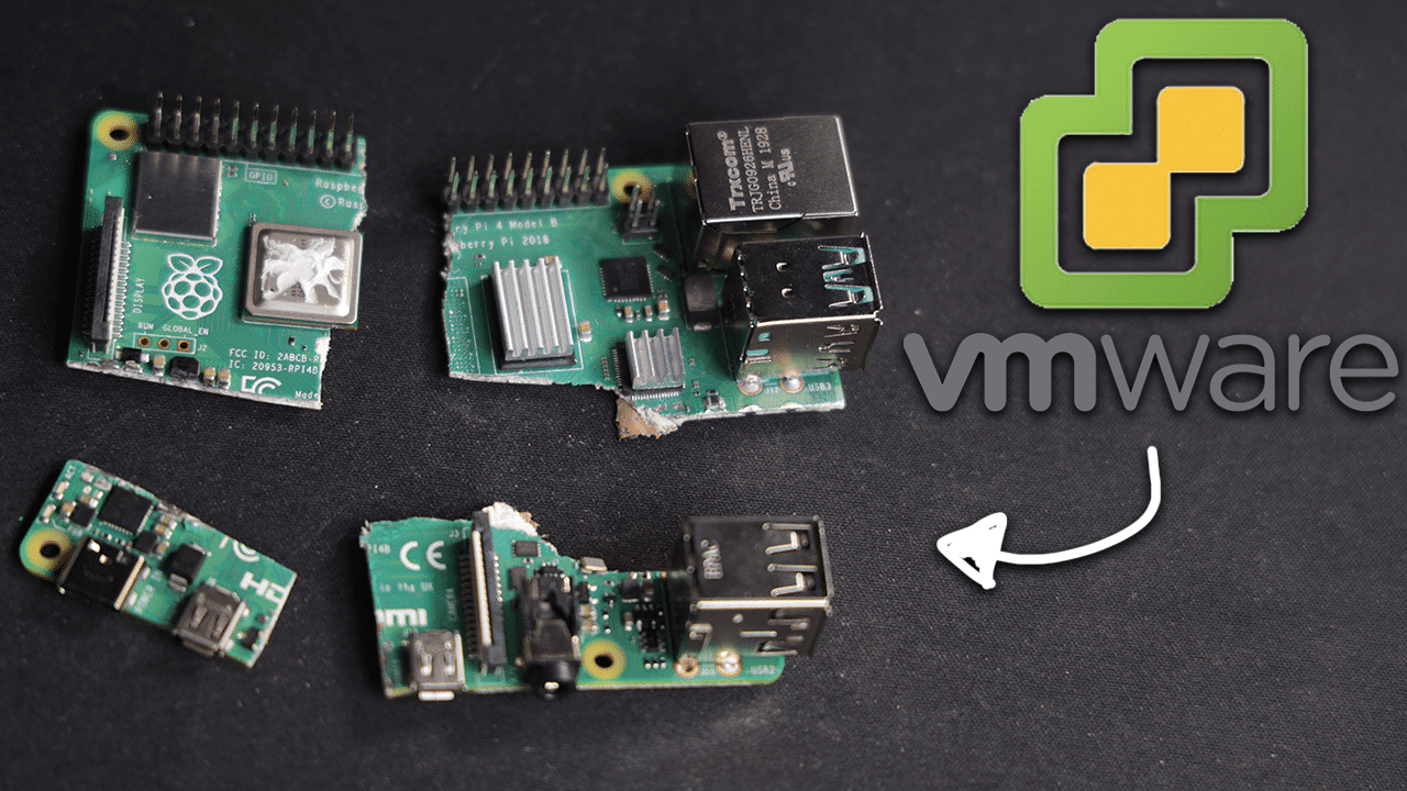 VMWare on a Raspberry Pi