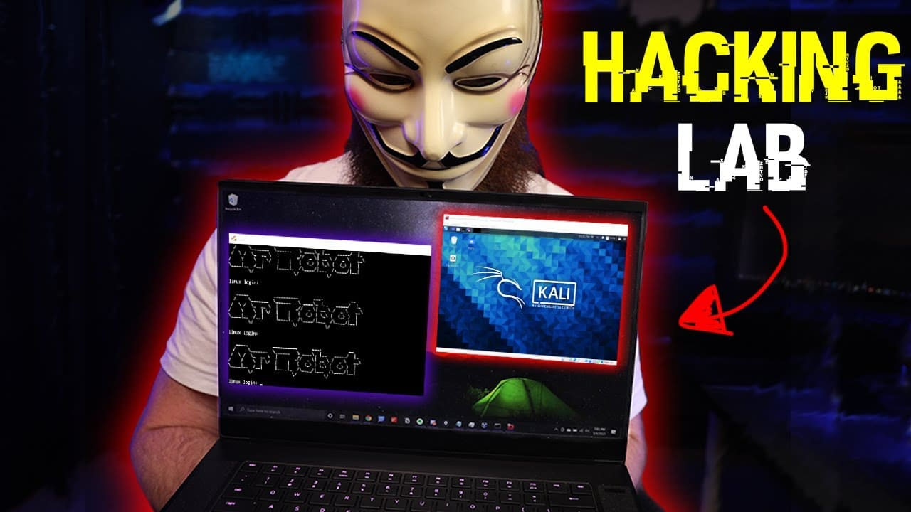 how to build a HACKING lab (to become a hacker)